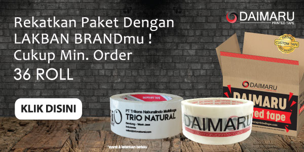 DAIMARU Printed Custom Tape  Start Campaign di ACCESSTRADE INDONESIA