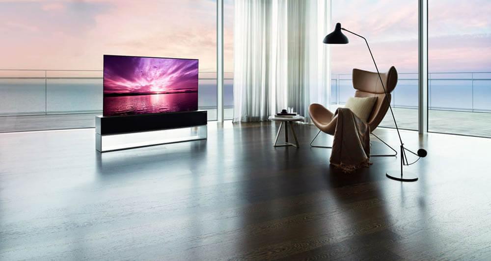 LG Signature OLED TV R: TV 1,2 Miliar yang Bisa Digulung