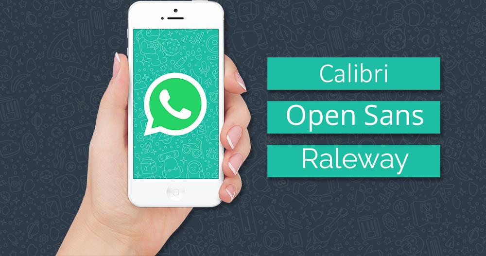 Cara Mengubah Font WhatsApp Tanpa Menggunakan Aplikasi