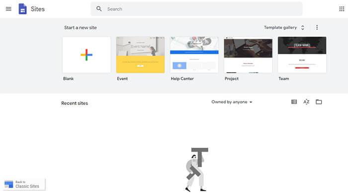 Google Sites Cara Termudah Dan Tercepat Membuat Website