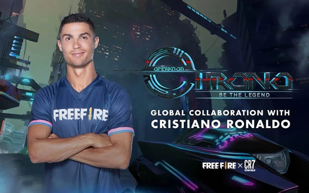Daftar Free Fire Global Collaborations, Dari Anime Sampai Cristiano Ronaldo
